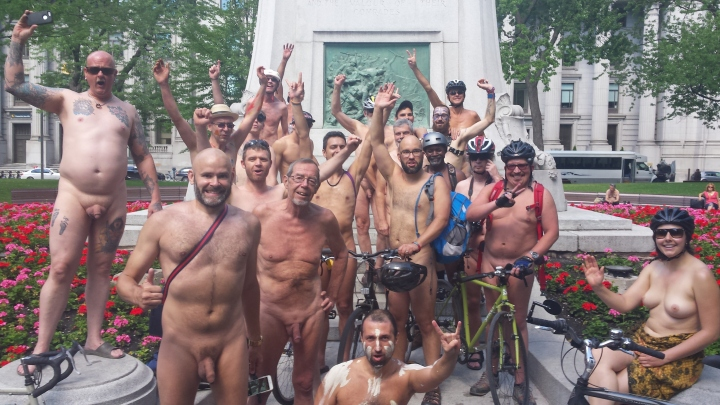 World Naked Bike Ride: Montreal 2016 - The Naturist Page